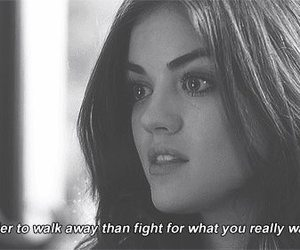 pretty little liars, aria, and quotes image