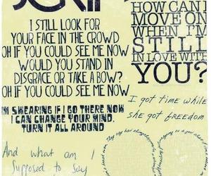 the script, love, and Lyrics image