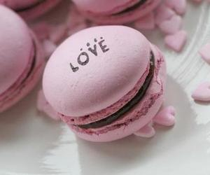 pink, love, and food image