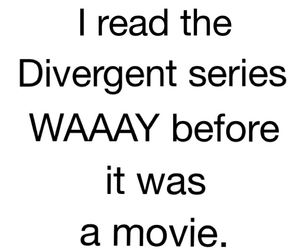 divergent and book image