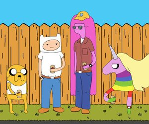 adventure time, funny, and King of the Hill image