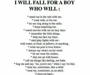 boy, falling, and quotes image
