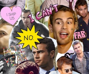 divergent, theo james, and love image