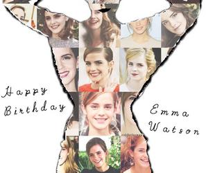 emma watson, happy birthday, and 24! image
