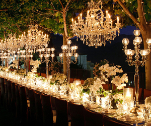 wedding, light, and candles image