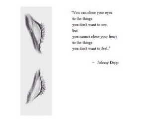 quote, johnny depp, and eyes image