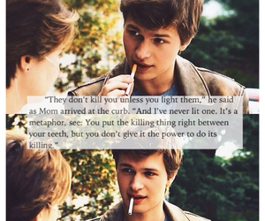 gus, the fault in our stars, and tfios image