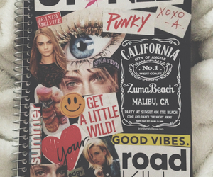 diary, grunge, and journal image