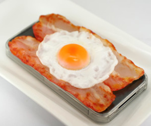 bacon, egg, and phone case image