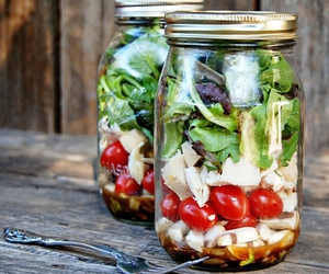 salad, food, and lunch image