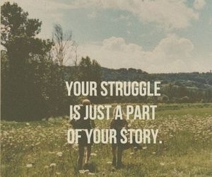 quote, life, and struggle image