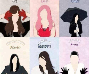 demi lovato, heart attack, and remember december image