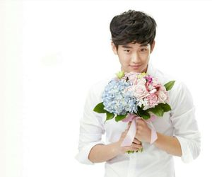 flowers, my love from another star, and handsome image