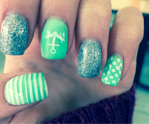 anchor, nails, and love image