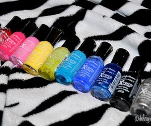 nail polish, nails, and sally hansen image