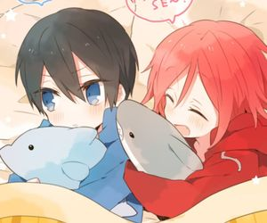 free and rin is such a cutie image