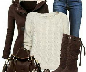 brown, clothes, and cute outfit image