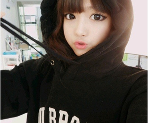 cute, girl, and korean image