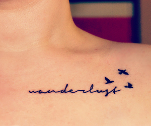 tattoo, wanderlust, and bird image