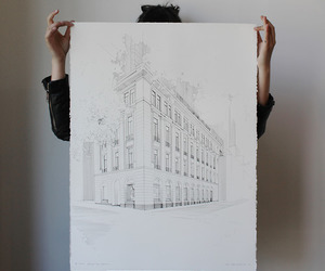 art, architecture, and drawing image