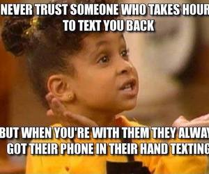 true, trust, and text image