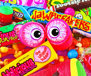 candy and eyes image