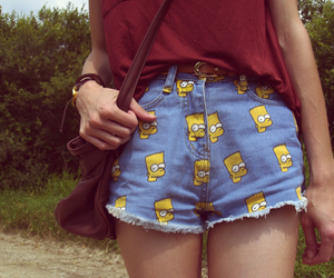 shorts, short, and bart image