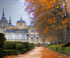 autumn and spain image