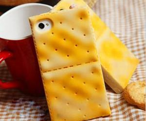 iphone, case, and food image