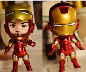 Avengers, iron man, and cute image