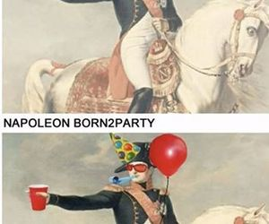 napoleon, funny, and party image