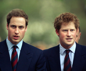 prince harry, prince william, and uglies image