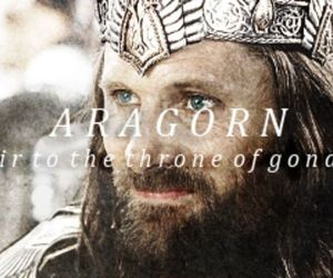 aragorn, the lord of the rings, and LOTR image