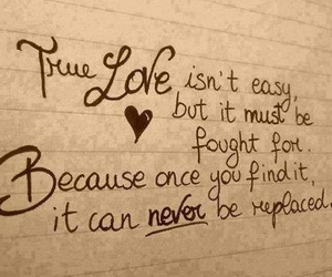 quote, love, and true image