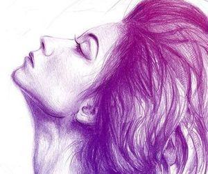 art, wonderful, and girl-woman image