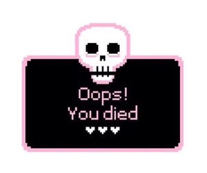 pink, Died, and oops image