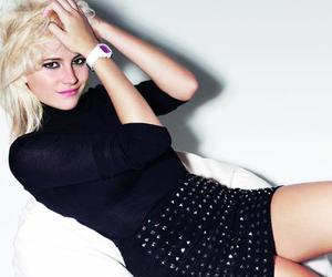 blonde and pixie lott image