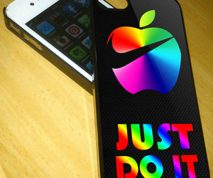 Just Do It, nike, and iphone 4 4s image