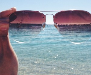 meer, summer, and sonnenbrille image