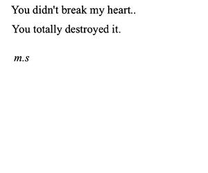 break, break up, and broken image