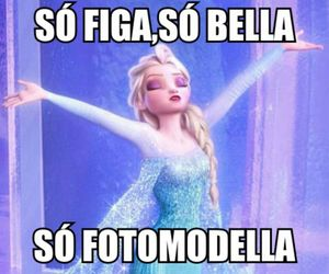 frozen, funny, and italian image