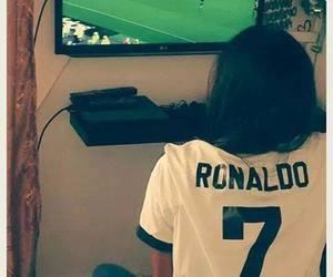 real madrid, cristiano ronaldo, and girl image