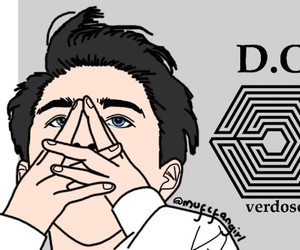 drawing, exo, and overdose image