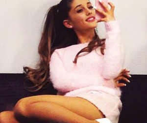 justin, pink, and selfie image