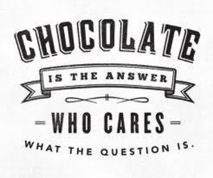 chocolate, quotes, and food image