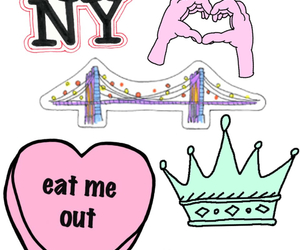 Collage, cool, and ny image