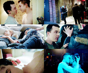 mickey, shameless, and gallavich image