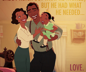 princess and the frog, disney, and love image