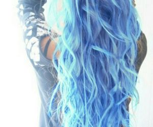 <3, blue, and cool image