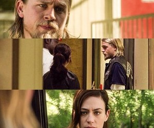 couple, sons of anarchy, and love image